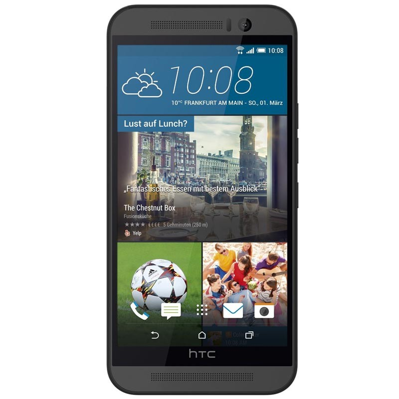 HTC One M9 Handy dunkelgrau