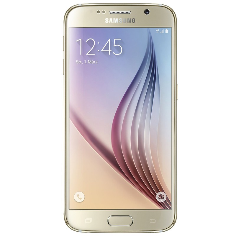 Samsung Galaxy S6 (G920F) 128GB gold Original Handy