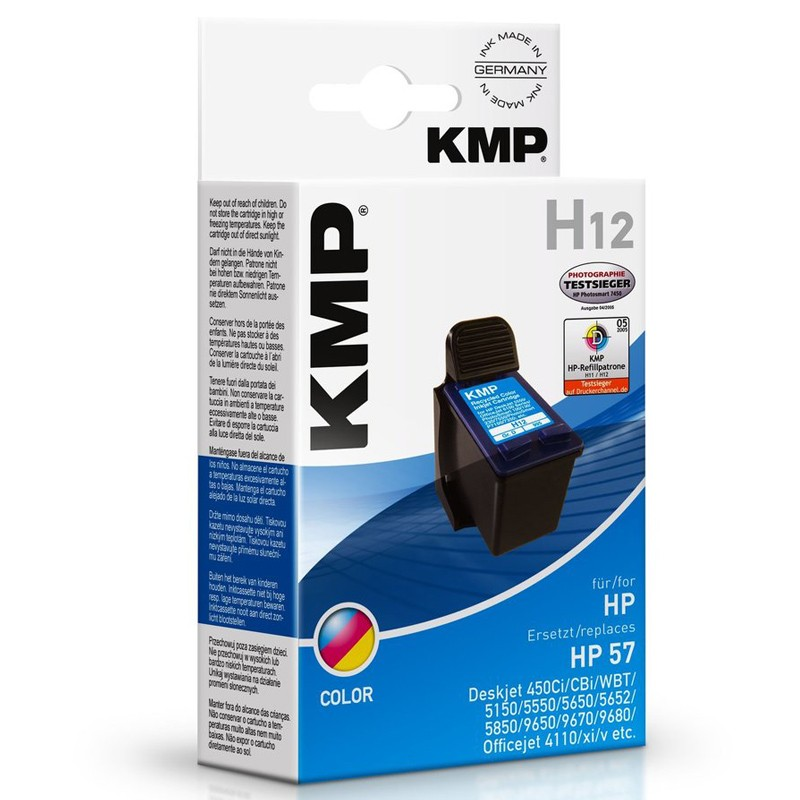 KMP H12 (C6657AE) Tinte color