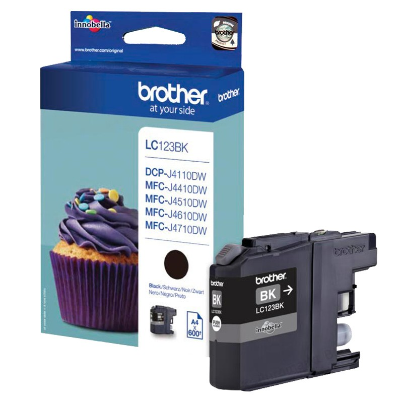 Brother LC123BK Tintenpatrone schwarz