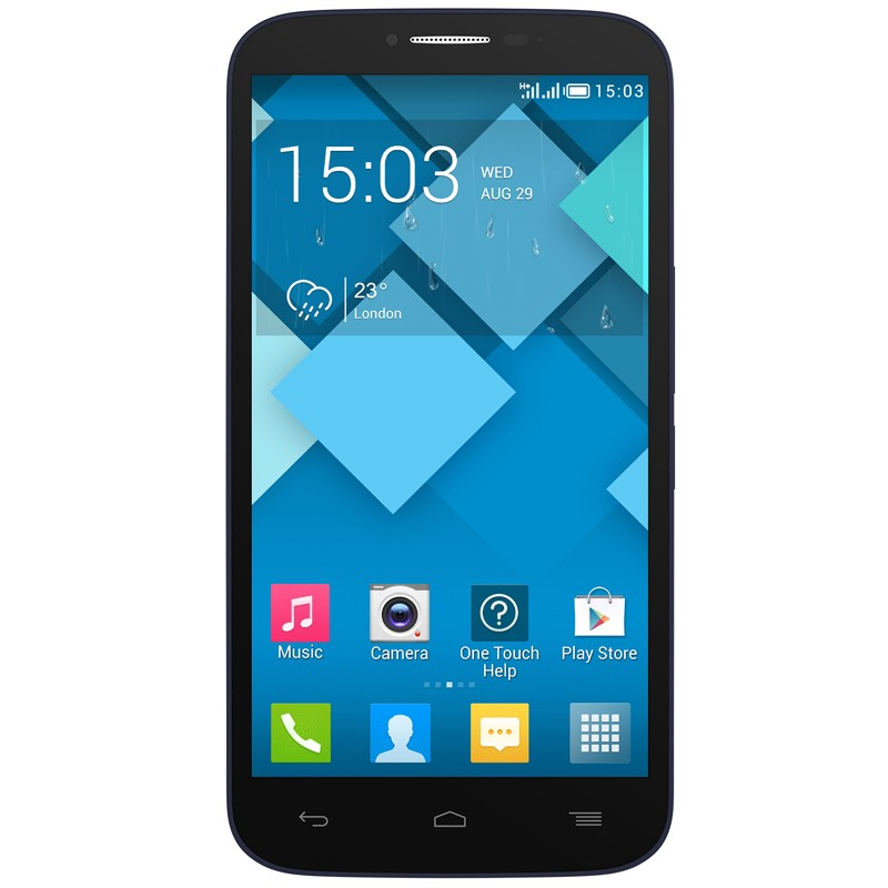 Alcatel One Touch Pop C9 Dual-SIM Handy schwarz