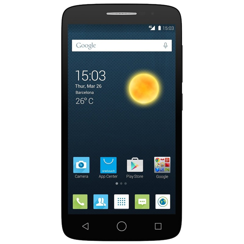 Alcatel One Touch 7043K Pop 2 vulcano schwarz