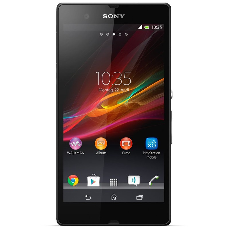 Sony Xperia Z black Handy (SC)