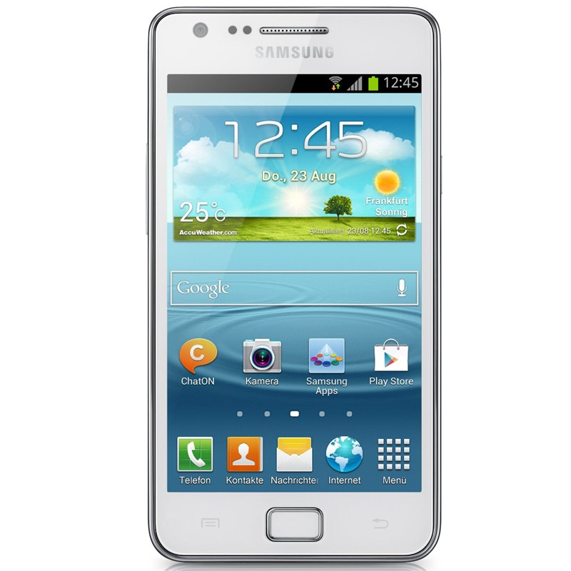 Samsung I9105P Galaxy S2 Plus chic white Original Handy