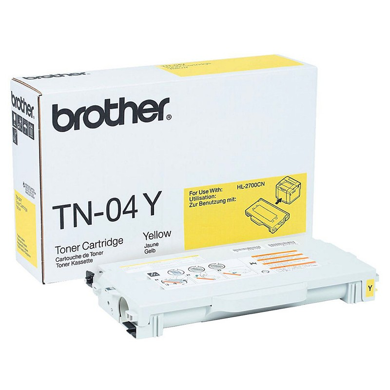 Brother TN-04Y gelb Toner