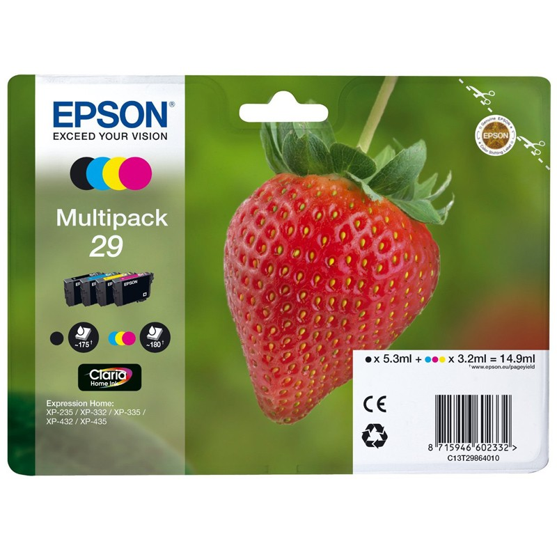 Epson 29 Multipack 4-farbig