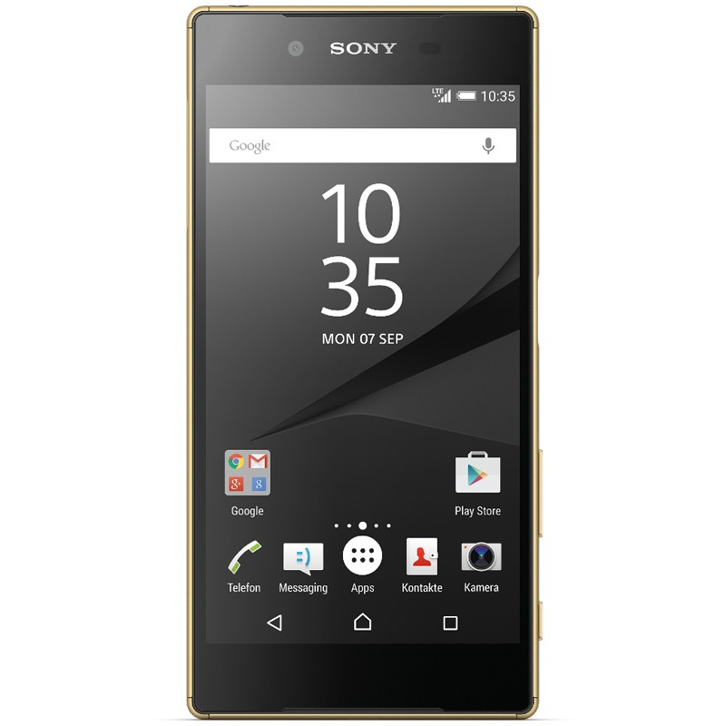 Sony Xperia Z5 gold front