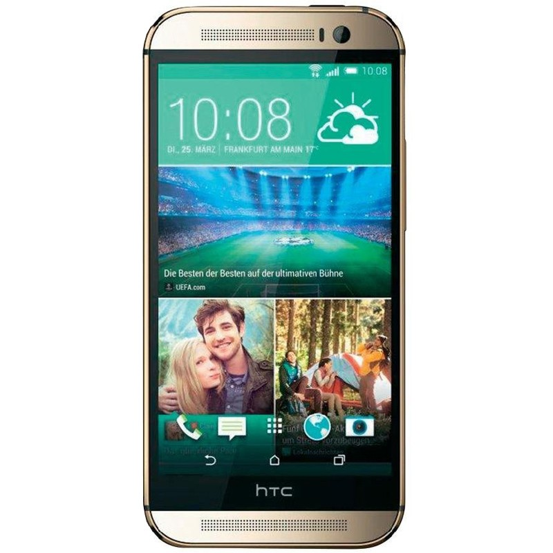 HTC One M8S amber gold Handy