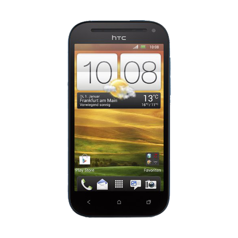 HTC One SV pyrenees blue Handy