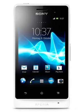 Xperia GO (ST27i) white Handy Outdoor