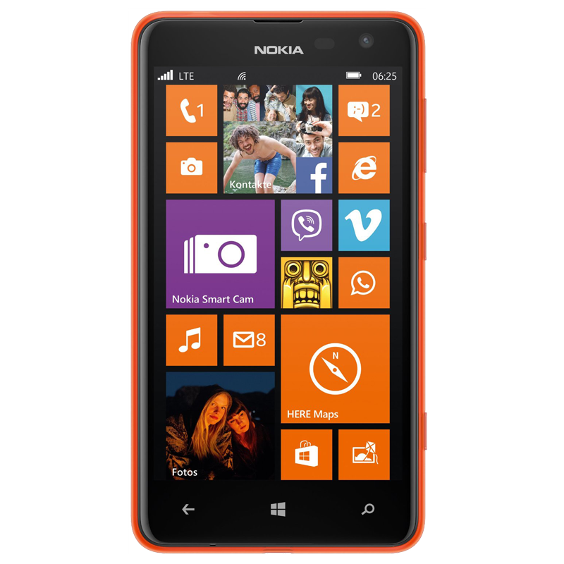 Nokia Lumia 625 orange Handy Original