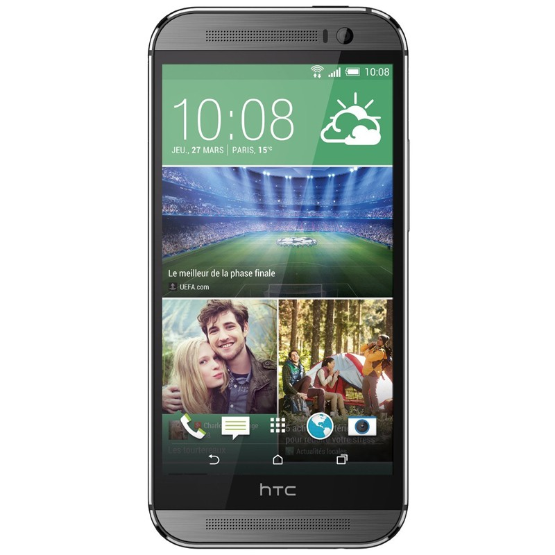 HTC One M8 gunmetal grey Handy