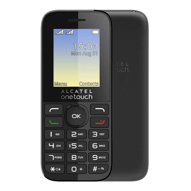 Alcatel One Touch 1016D schwarz