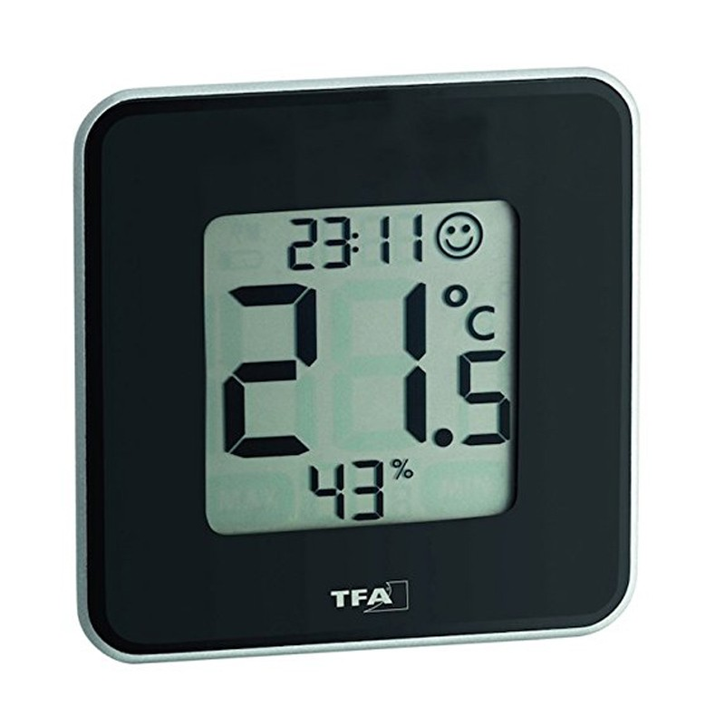 TFA digitales Thermo-Hygrometer Style 30.5021.01