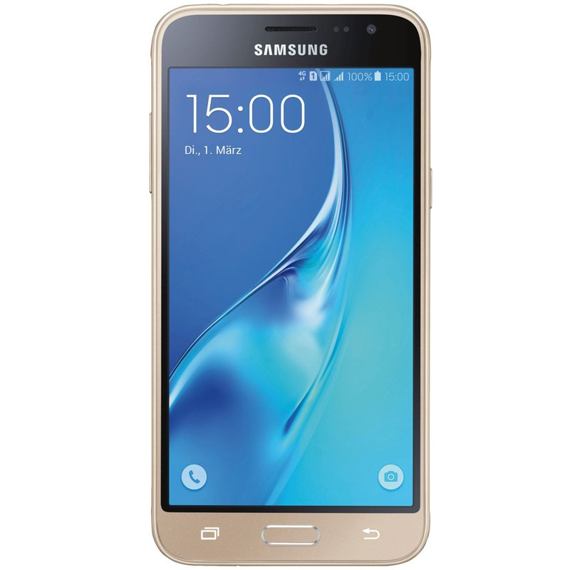 Samsung Galaxy J3 Duos gold (2016) B-Ware (neutrale Verpackung)