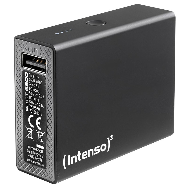 Intenso Powerbank Softtouch ST6600