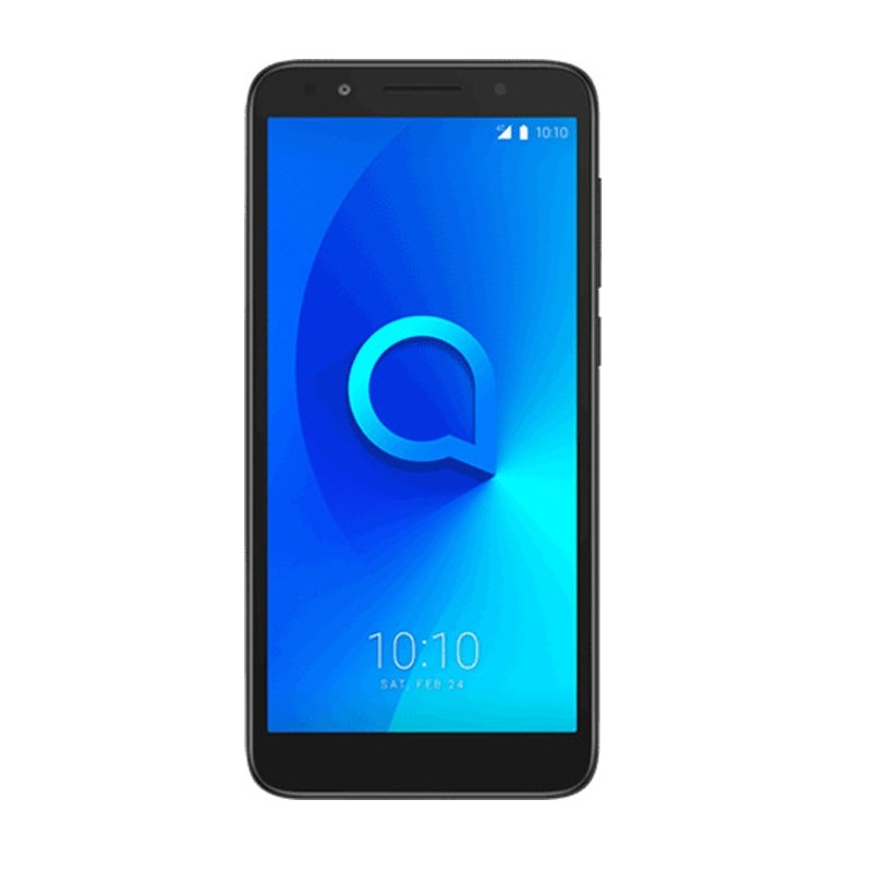 Alcatel 1X Dual-SIM Smartphone dark grey