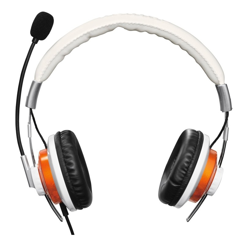 "Hama PC-Headset ""HS-320"", Weiß Stereo Sound"