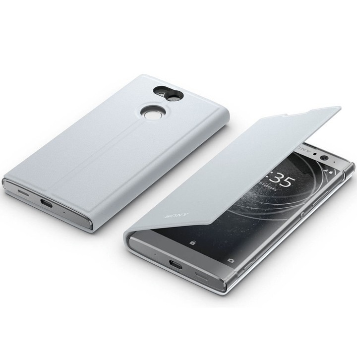 Sony Style Cover Stand SCSH20 für Xperia XA2 Ultra silber