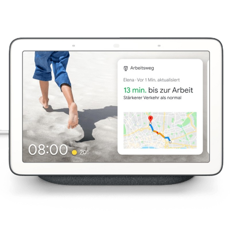 Google Nest Hub anthrazit