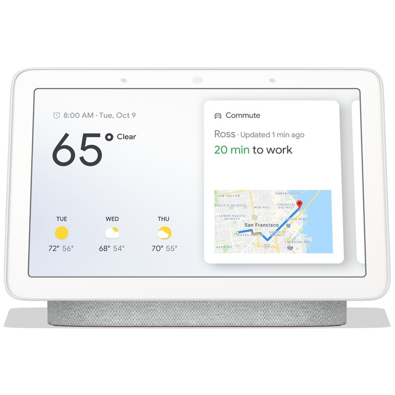Google Nest Hub rock candy