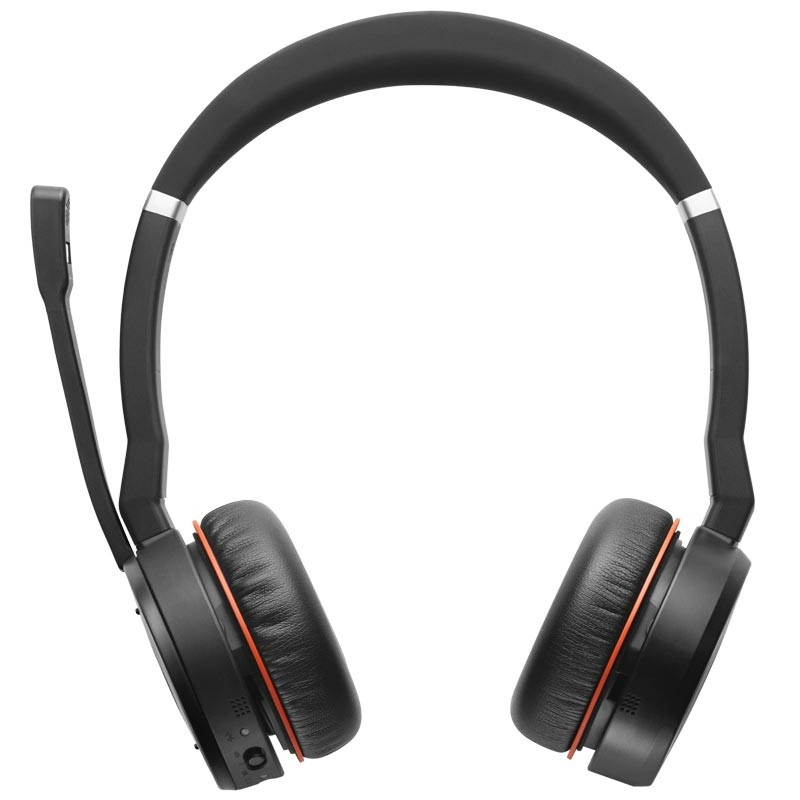 Jabra Evolve 75 MS DUO Bluetooth Headset mit Ladestation