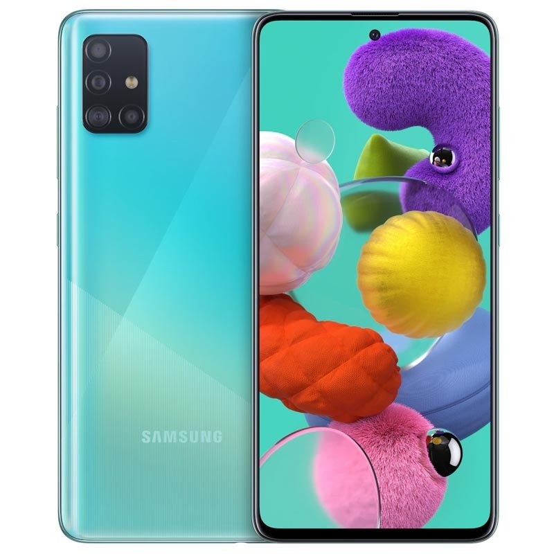Samsung Galaxy A51 128GB Smartphone prism crush blue Android 9.0