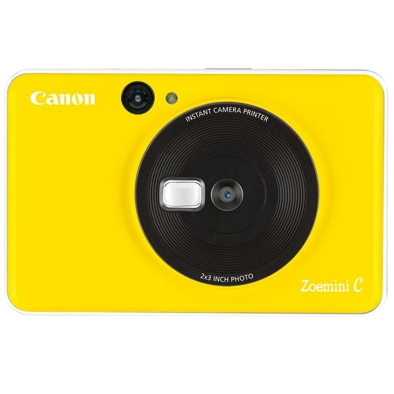 Canon Zoemini C digitale 5 MP Sofortbildkamera bumblebee yellow