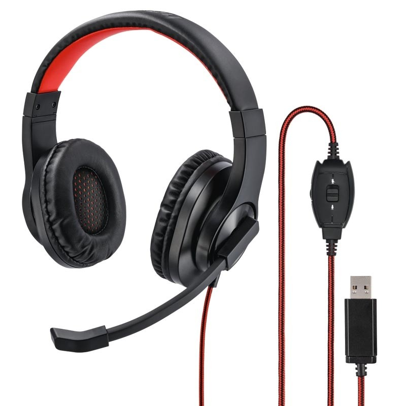 "Hama PC-Office-Headset ""HS-USB400"" Stereo Schwarz"