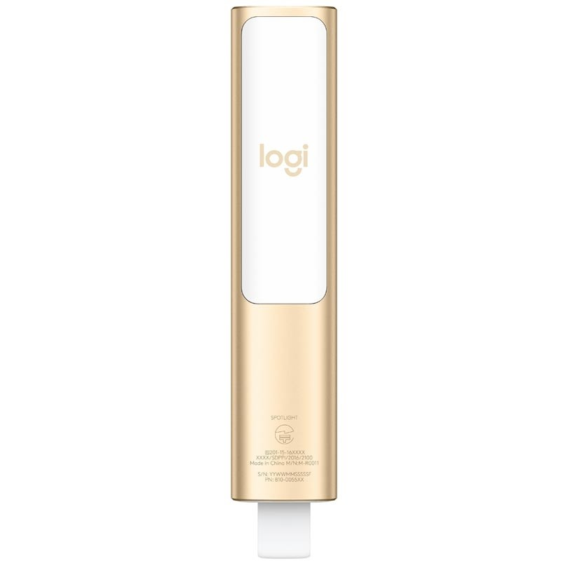 Logitech Spotlight Presenter gold
