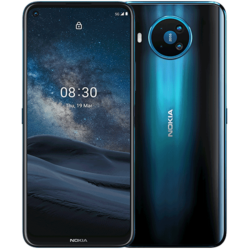 Nokia 8.3 5G 128GB Smartphone polar night