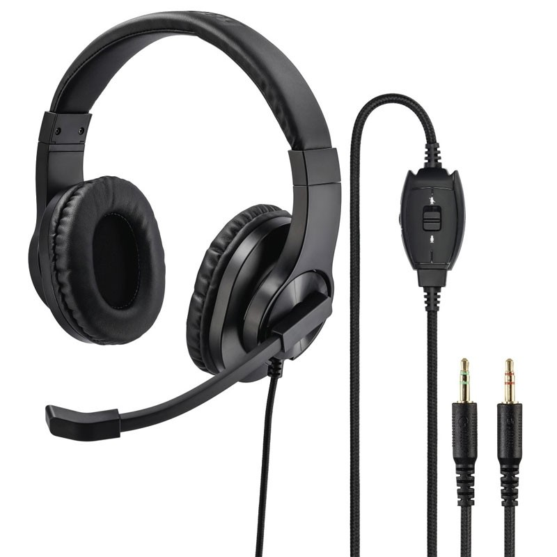 "Hama PC-Office-Headset ""HS-P300"", Stereo, Schwarz"
