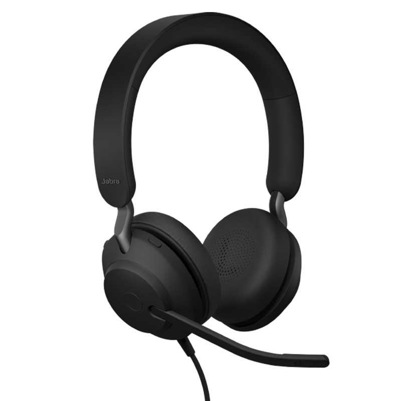 Jabra Evolve2 40 MS Stereo USB-A Headset On-Ear