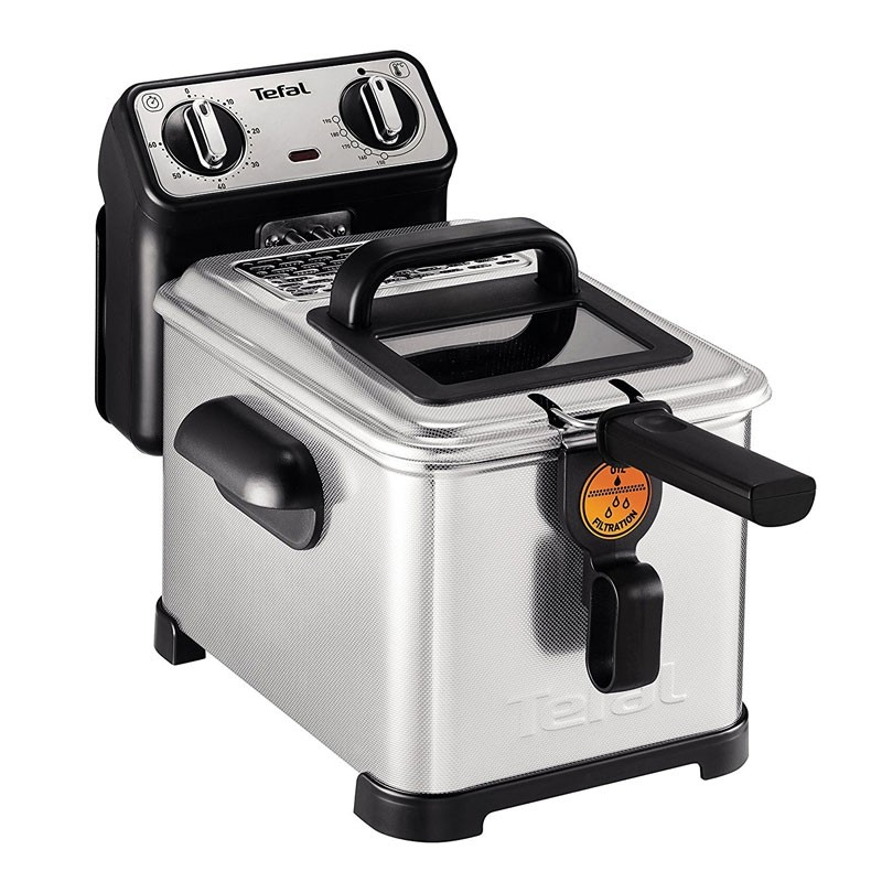 Tefal FR5101 Fritteuse Filtra Pro Inox and Design