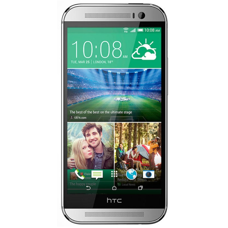 HTC One 2 (M8) silber Telekom Handy