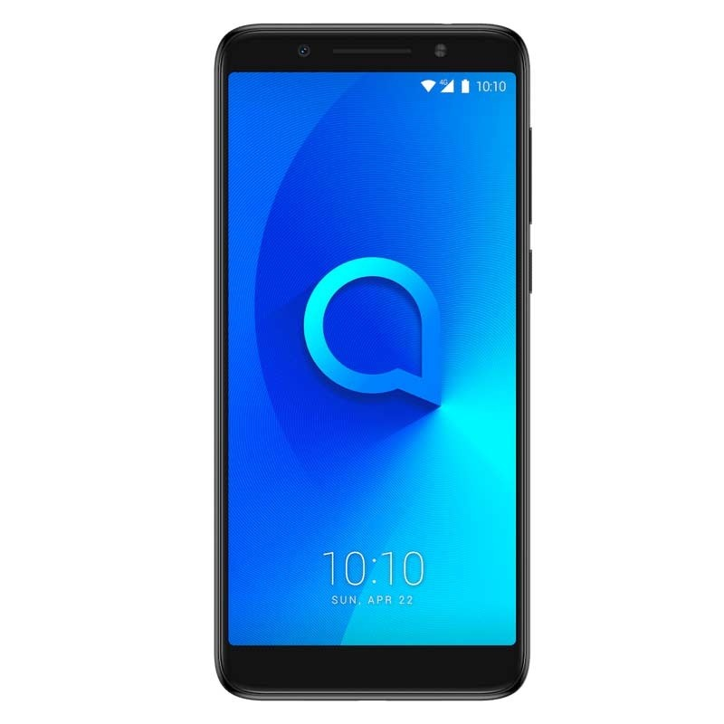 Alcatel 3X 5058I Dual-SIM Smartphone metallic black