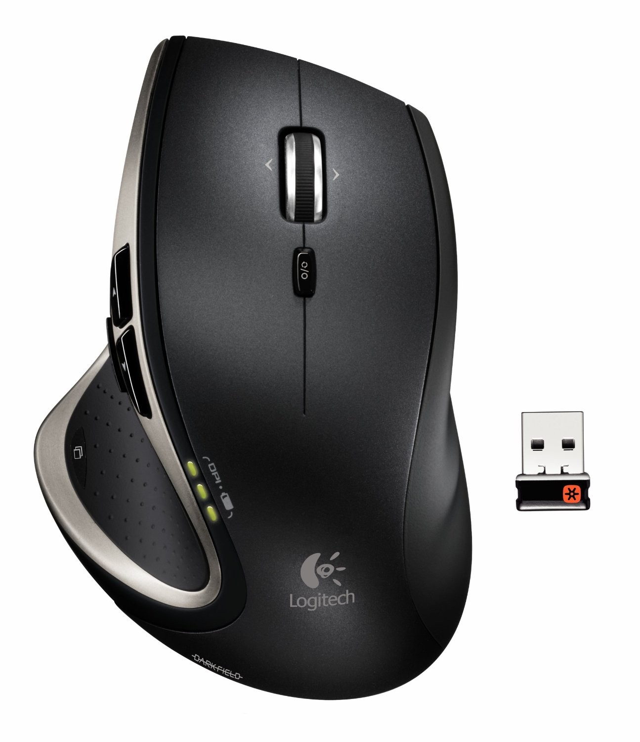 Logitech Performance Maus MX Cordless USB schwarz