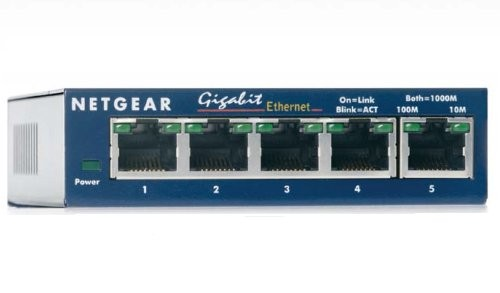 Netgear GS105GE 5-port (RJ-45) Switch