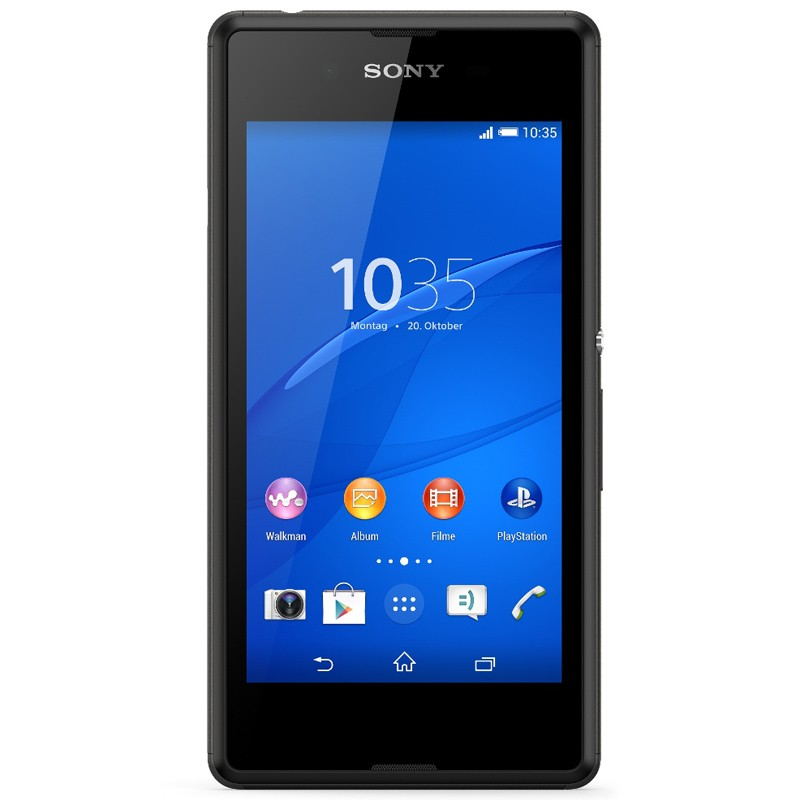 Sony Xperia E3 Single schwarz