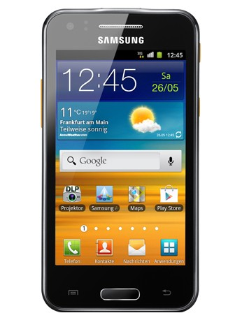 GT-i8530 Galaxy Beam ebony gray