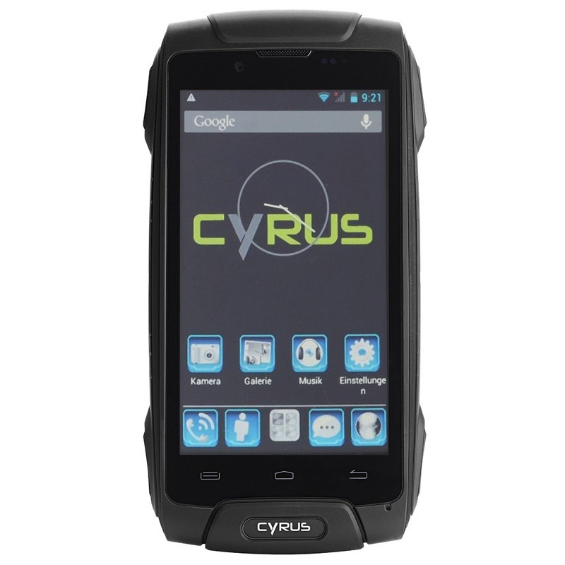 Cyrus CS25 Outdoor Handy (Dual Sim) schwarz