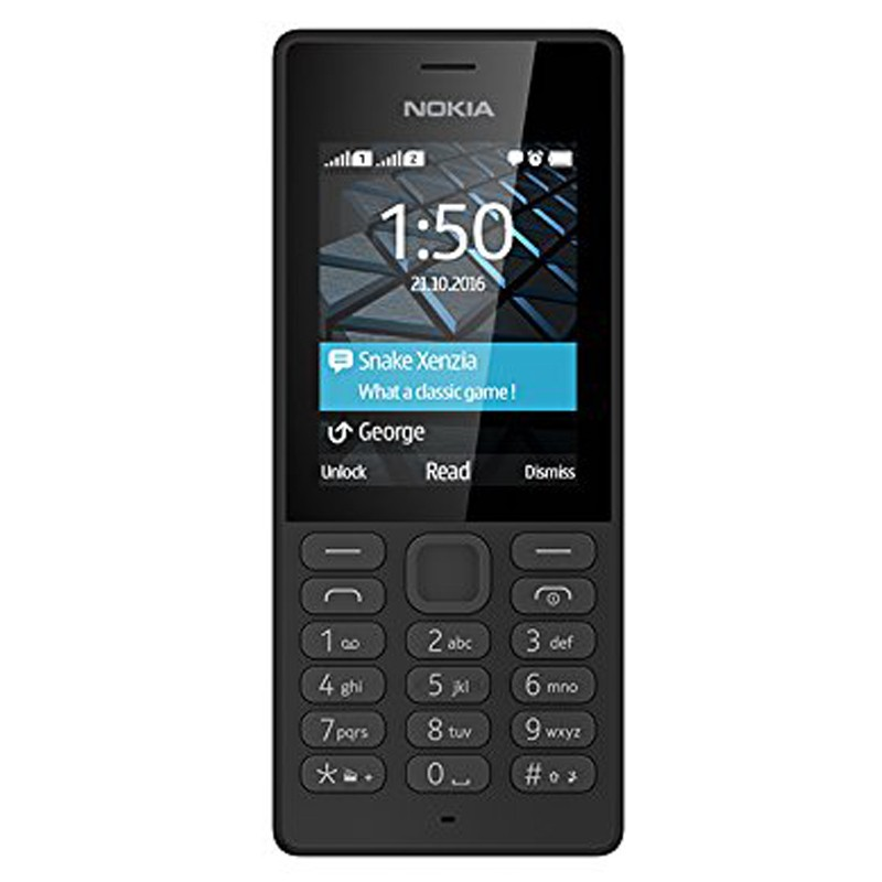 nokia 150 dual sim handy schwarz. Black Bedroom Furniture Sets. Home Design Ideas