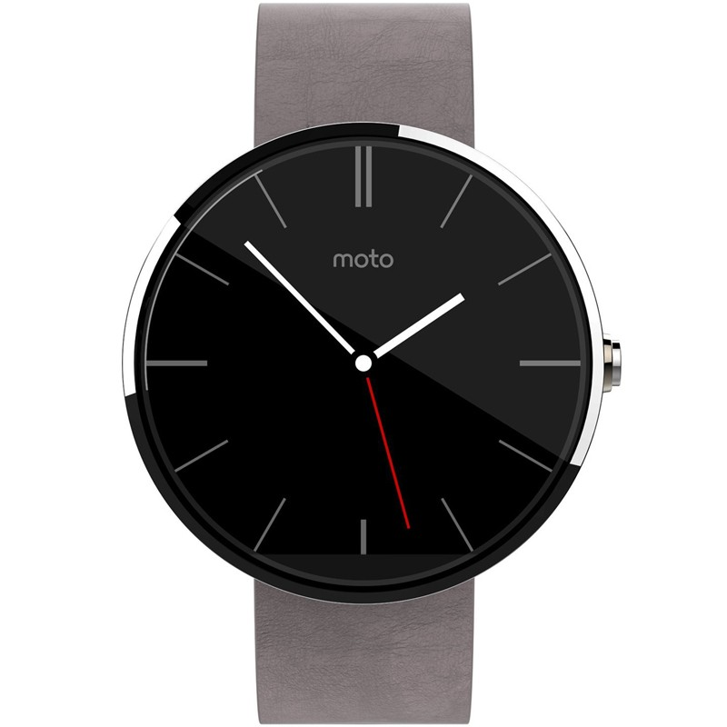 Motorola Moto 360 Smart Watch Light Chrome