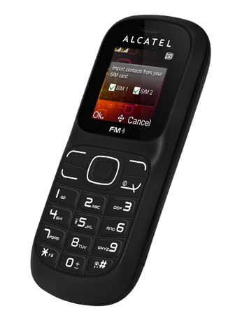 Onetouch 217D black Handy