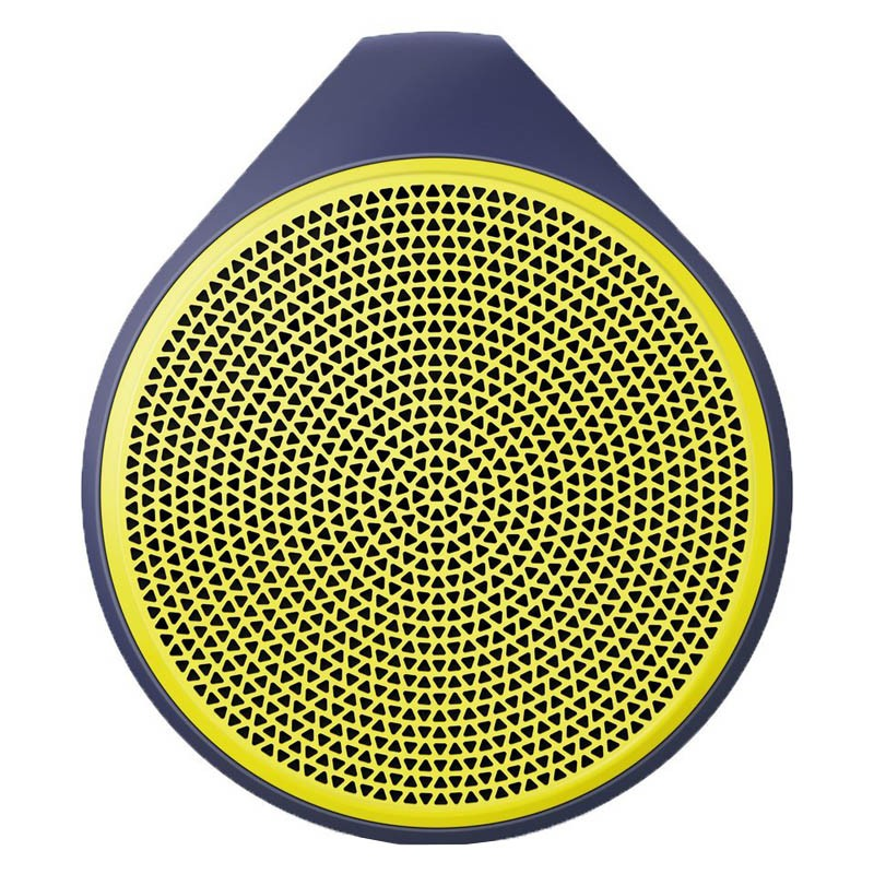 Logitech X100 Mobile Bluetooth Speaker gelb