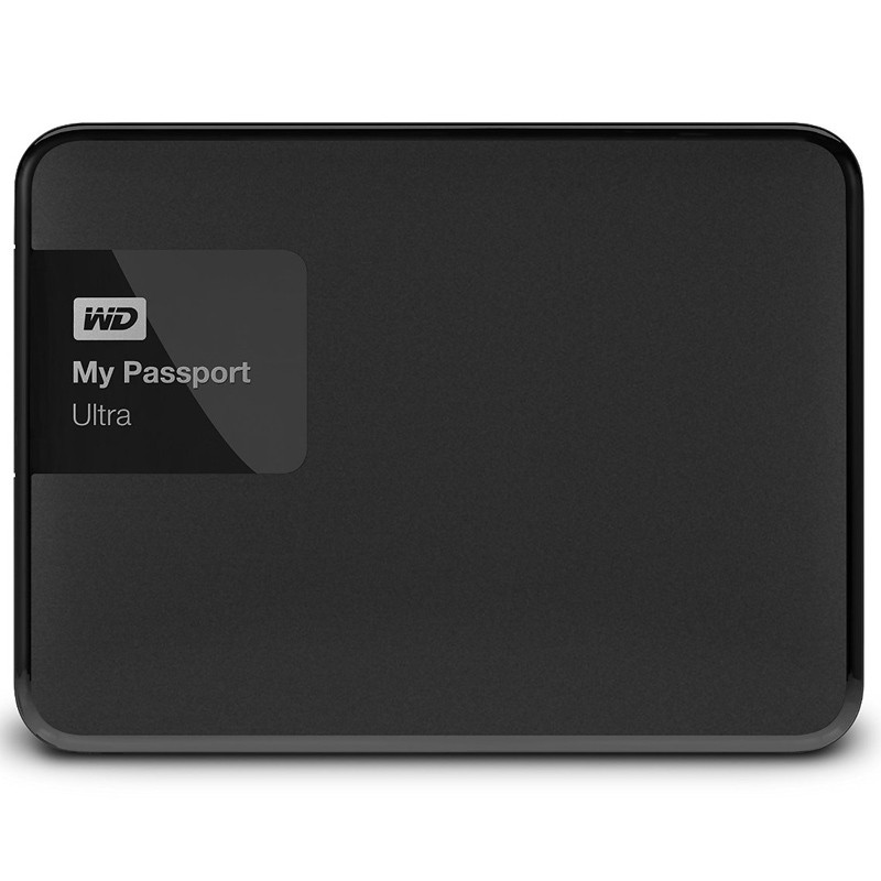 Western Digital My Passport Ultra 2TB schwarz