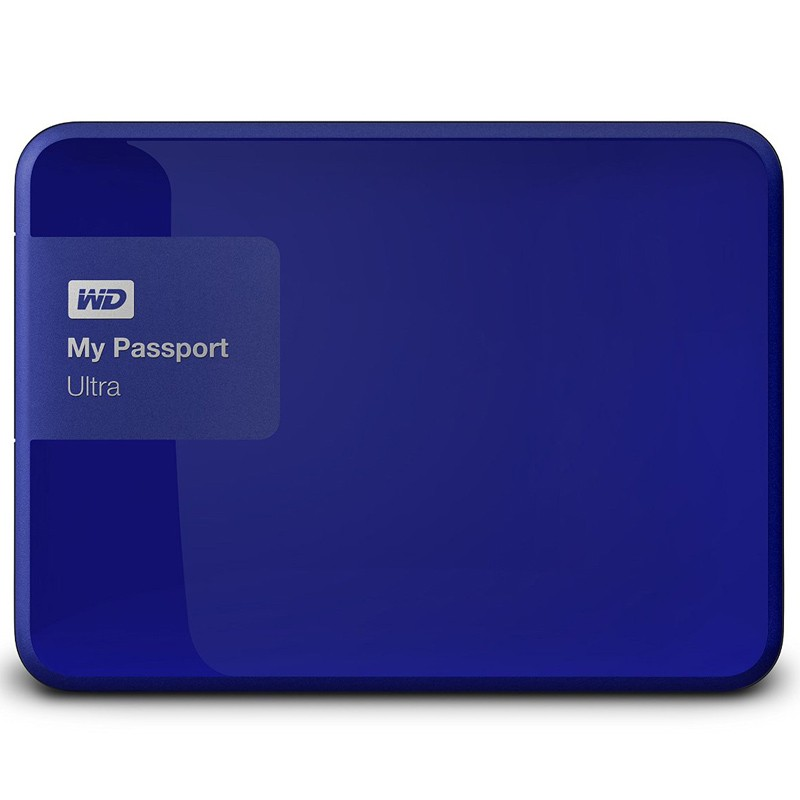 Western Digital My Passport Ultra 2TB königsblau