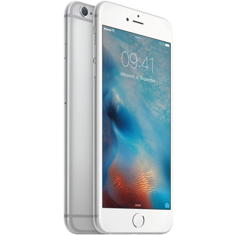 iphone 6s plus 128gb silber apple. Black Bedroom Furniture Sets. Home Design Ideas