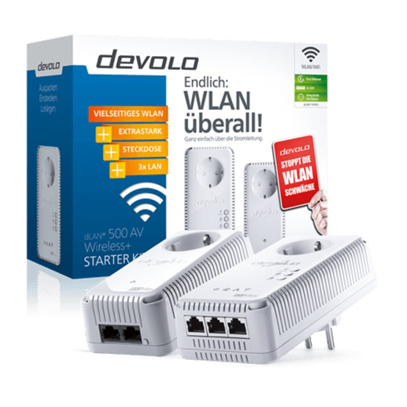 Devolo dLAN 500 Wireless+ Starter Kit