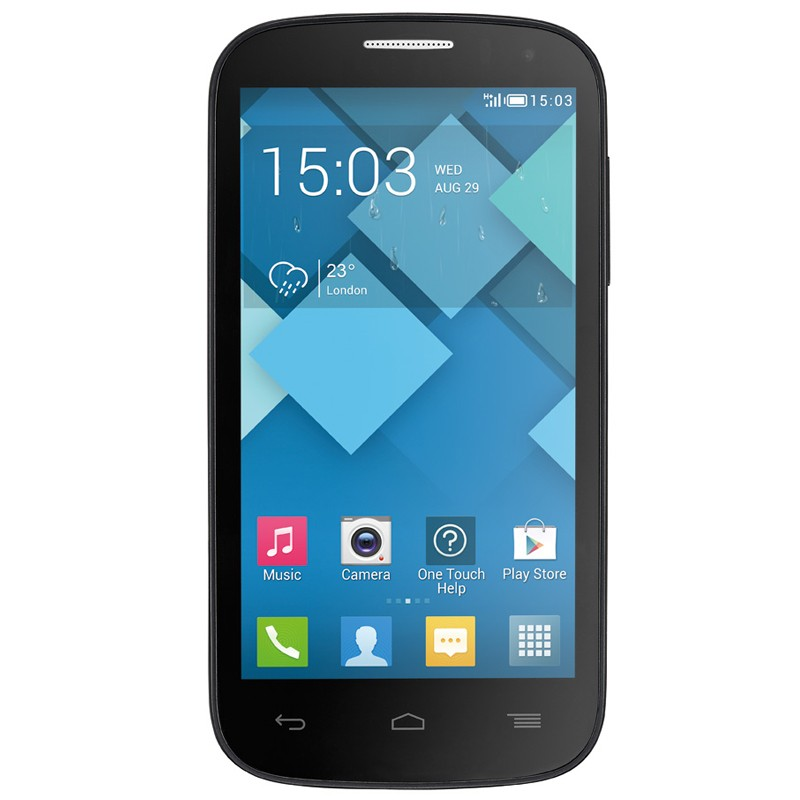 Alcatel One Touch POP C5D Bluish Black Handy